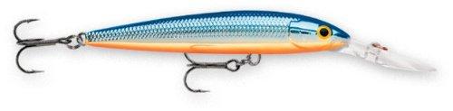 Rapala Down Deep Husky Jerk 10 Fishing lure 4-Inch Silver Blue