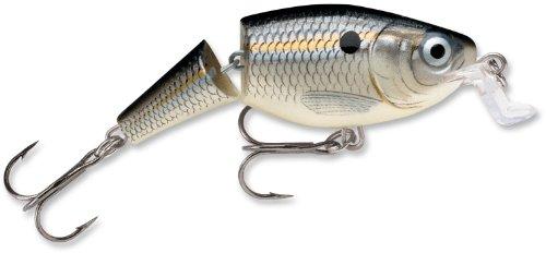 Rapala Jointed Shallow Shad Rap 7 Fishing Lure Silver Shad 2-34-Inch