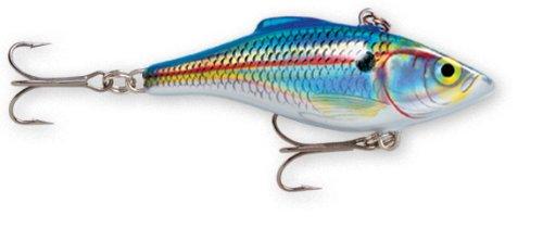 Rapala Rattlin Rapala 08 Fishing lure 3125-Inch Holographic Blue Shad