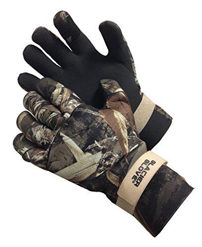 Glacier Glove Pro Waterfowler Waterproof Neoprene Gloves Max 5 Medium