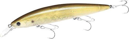Lucky Craft Saltwater Surf Pointer 115 MR Jerkbait 4 12 inch - Golden Shiner