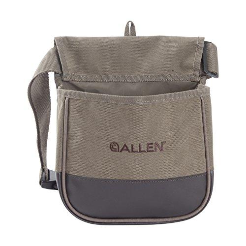 Allen Select Canvas double Compartment Shell Bag Tan
