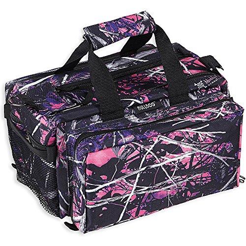 Bulldog Cases Deluxe Muddy Girl Range Bag with Strap CamoBlack