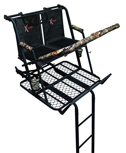 X-Stand The Jayhawk Ladder Stand Black