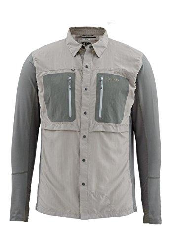 Simms GT TriComp LS Shirt Platinum L