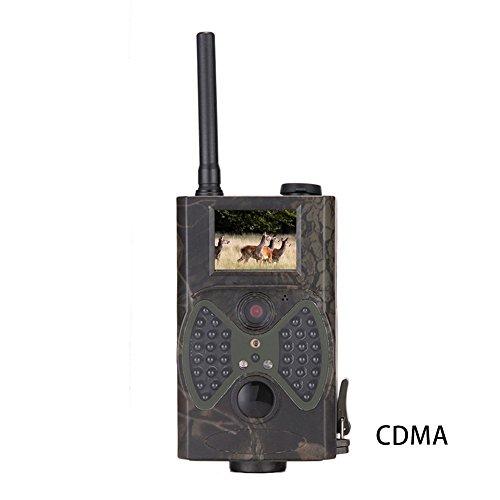 HC-350G Trail Camera 3G SMS MMS SMTP GPRS Wildlife Camera 16MP HD 1080P Infrared Night Vision 20 Color LCD Display Hunting Scouting Surveillance Camera