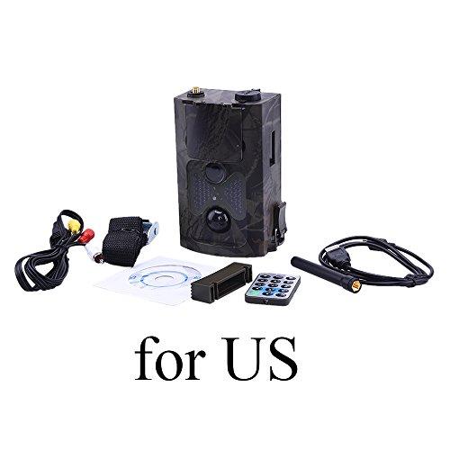 HC500G Hunting Camera 3G GPRS MMS SMTPSMS 12MP 1080P infrared sensor Wildlife Trail Camera