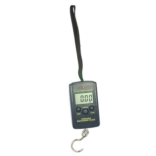 niceEshop 40KG Digital Fishing Scale Fish Hook Hanging Scale
