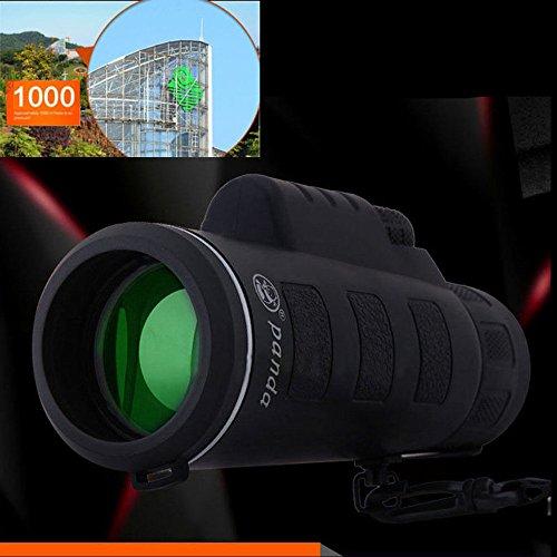Practical High Tech BinocularsEfastertm Super High Power 40X60 Portable HD OPTICS BAK4 Night Vision Monocular Telescope