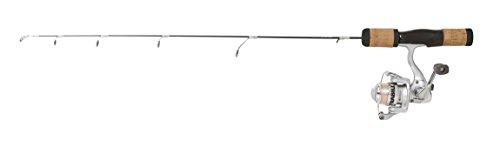 Frabill Fin-S Pro 24-Inch Ultra Light Ice Fishing Combo Black