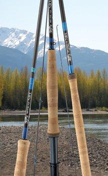 G Loomis NRX Saltwater Fly Fishing Rod NRX 1089-4 Blue