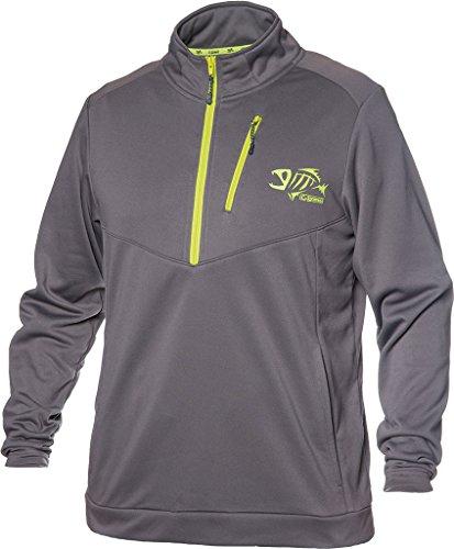 G Loomis StormCast 14 Zip Fleece Charcoal XXX Large