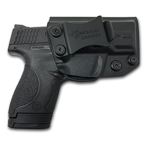 CONCEALED CARRIER TM IWB Holster Smith Wesson M&P Shield 9MM40 S&W - VETERAN OWNED COMPANY - Inside Waistband Concealed Carry Holster For Pistol Gun