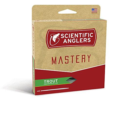 Scientific Anglers Trout Taper- Dry Tip Tech W Loop - Optic Green  Green WF- 4-F