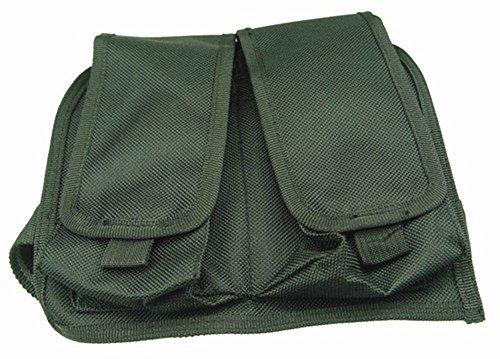 Ultimate Arms Gear Stealth Black Double Drop Leg Magazine Pouch For AK47 AK-47 AK74 762X39