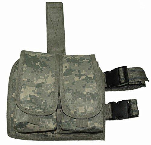 Ultimate Arms Gear ACU Digital Camouflage Double Drop Leg Magazine Pouch