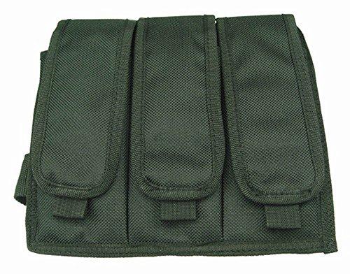 Ultimate Arms Gear Stealth Black Triple Drop Leg Magazine Pouch For Ruger 1022 10-22 Mini 14 30 SR-556 SR-22 Rifle