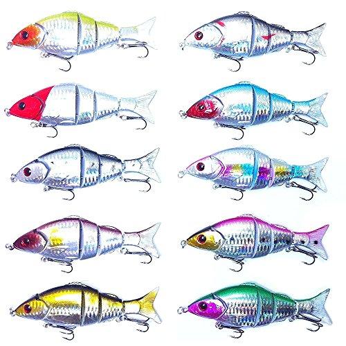 "orurudo fishing japan Lure Set Set Of 10 472"" 12 Cm 074 Oz 21 G Swimbait A For Sea Bass Japanese Halibut Flathead Beltfish Japanese Spanish Mackerel Yellowtail Japanese Lates Black"