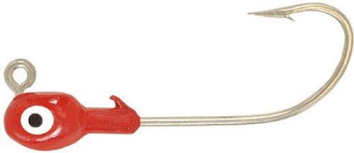 H&H Grub Jig Head 14 100bg Red