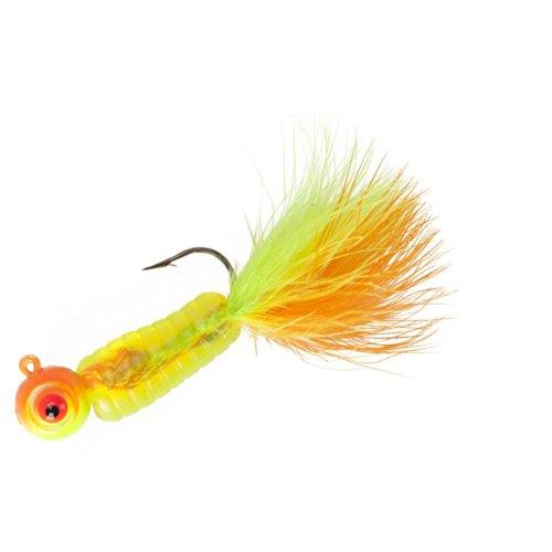 Lindy Fuzz-E Grub Jigs - Citrus Chub - 2 in - 14 oz