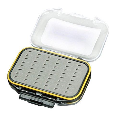 Tackle Box - MAXIMUMCATCH Waterproof Two-Sided Foam Fly Fishing Lure Bait Hook Storage Case Tackle Box type-B