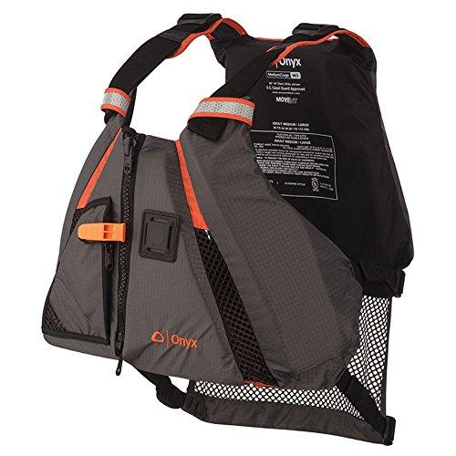 ONYX MoveVent Dynamic Paddle Sports Life Vest Orange MediumLarge