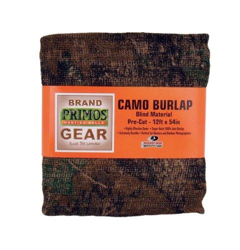 Primos Camo Burlap Blind Material - Pre-Cut Mossy Oak New Break-Up 12-Feet x 54-Inch
