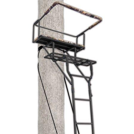 Ameristep 15 Two-Man Ladderstand w RealTree AP Seat