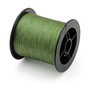 Fishing Wire - SODIALR Nylon Fishing Wire braid 12LB 55kg 200M for Lure Trolling Army-Green