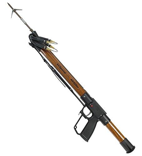 AB Biller Wood Mahogany Special Spear Gun Spearfishing Kit 42 Mahogany
