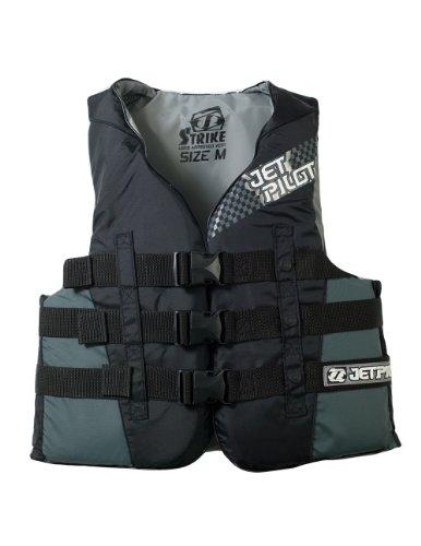 JetPilot Strike Nylon Vest Black X-Large
