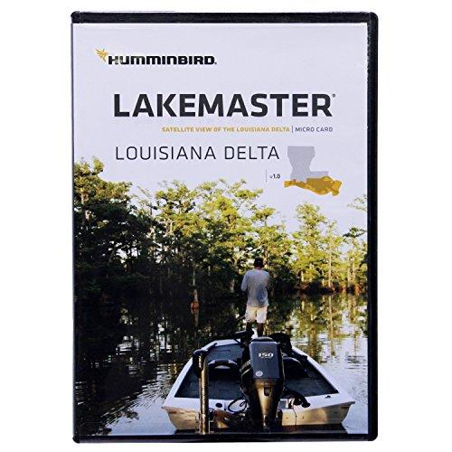 Humminbird LakeMaster Louisiana Delta Aerial View Edition Micro SD Card Version 1
