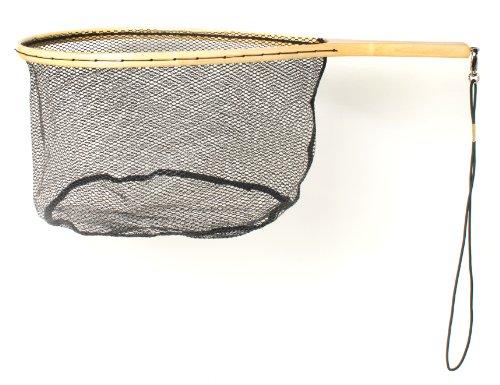 Eagle Claw NTRTR Wood Trout Net WRubberized Netting