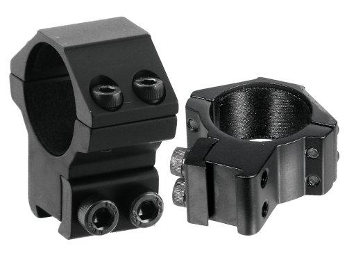 UTG 30mm2PCs Medium Profile Airgun Rings wStop Pin