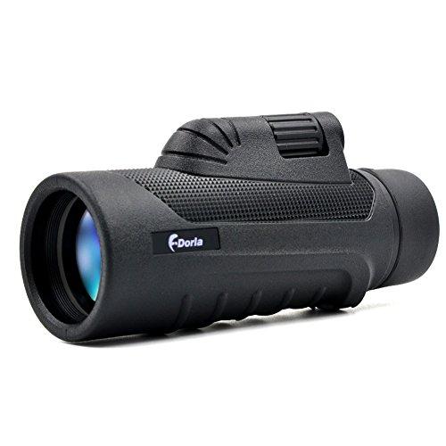 10x42 Monocular Scope FDorla Portable HD Waterproof Spotting Scopes Optical Prism Telescope for Bird Watching Hunting Traveling Wildlife Secenery