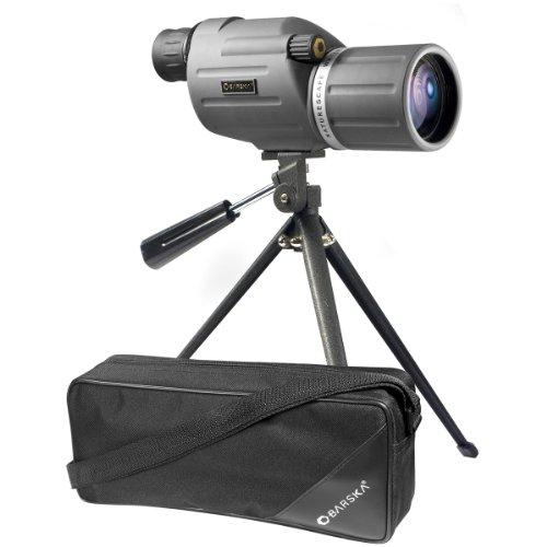 BARSKA Naturescape 15-45x50 Waterproof Spotting Scope w Tripod Soft Carry Case