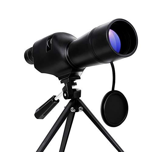 Pinty 20-60x60 Straight Spotting Scope with Tripod Optics Zoom 36-19m1000m for Target Shooting Bird Watching HuntingWaterproof