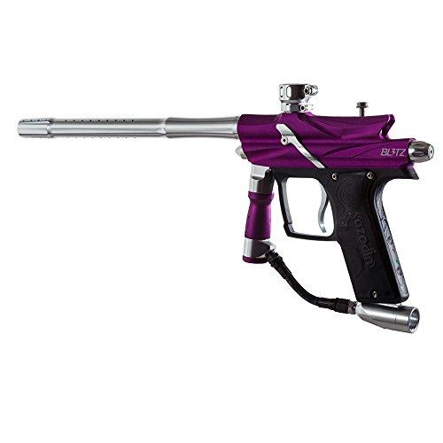 Azodin Blitz 3 Electronic Paintball Marker Gun - PurpleSilver