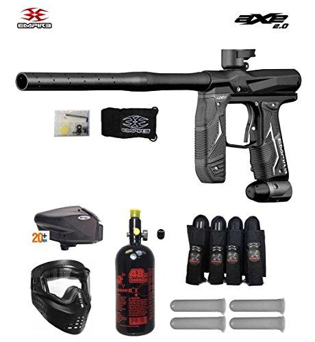 Empire Axe 20 Expert Paintball Marker Gun Package