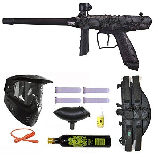 Tippmann Gryphon FX Paintball Marker Gun 3Skull 41 9oz Mega Set - Skulls