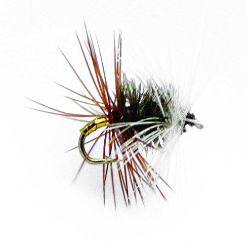 Feeder Creek 1 Dozen Renegade Dry Flies-Hand Tied Sizes 121416 18 Fly Pattern