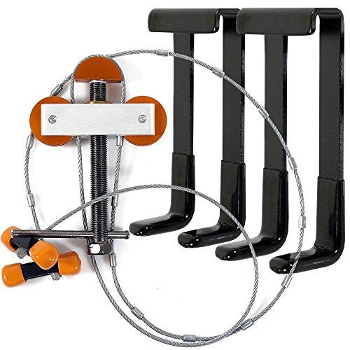 LIVABIT Archery Compound Bow Portable Bow Press Limbs Maintenance Repair Includes Black L Brackets