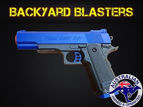 Detective M1911 Nerf Foam Dart Gun - Colt 45 ACP Toy Gun  Backyard Blasters