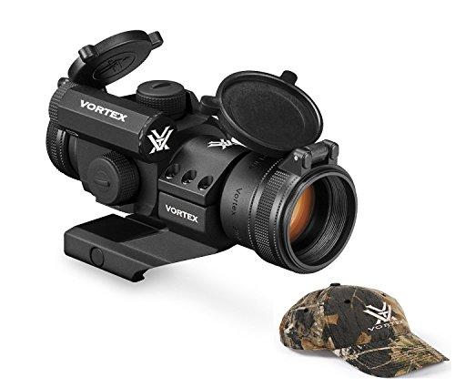 Vortex Optics SF-RG-501 StrikeFire II RedGreen Dot Scope with Vortex Optics Hat Colors May Vary