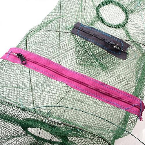 Portable Crab Fish Crawdad Shrimp Minnow Fish Fishing Bait Trap Cast Dip Mesh Net Cage