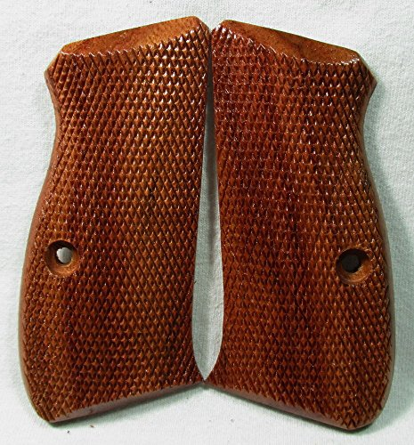 NEW Wood Checkered Grips for CZ 75 compact CZ 85 compact CZ 75D CZ85D