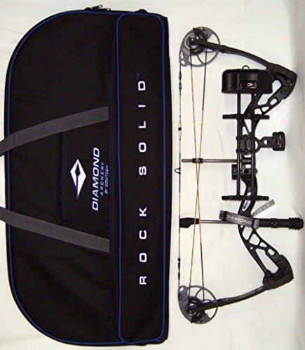 Diamond Edge SB-1 Compound Bow Black RAK Package Right Hand 7-70lbs with Diamond Soft Bow Case