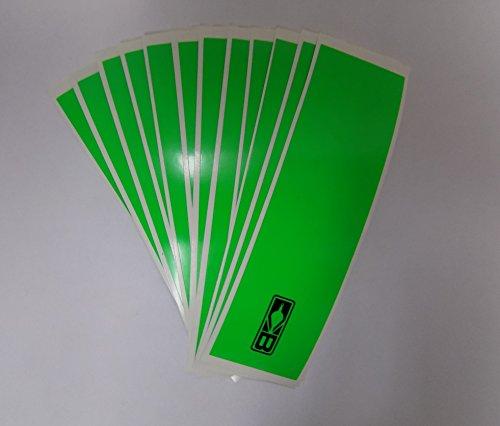 Blazer Arrow Wraps 4x1 Flo Green 1 Dz