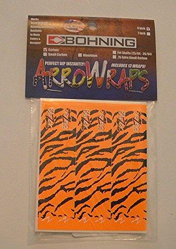 Blazer Arrow Wraps 4x1 Orange Tiger 1 Dz