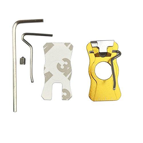 Sharrow Recurve Bow Adhesive Arrow Rest Metal Arrow Rest Yellow